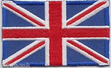 Union Jack United Kingdom Flag Embroidered Badge Patch
