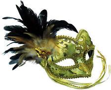 Gold Mask Masquerade Venetian Ball Fancy Dress