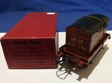 Hornby Trains Tinplate Flat Truck with Container O Gauge Item Number 42150