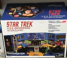 Star Trek Mego Retro Cloth Enterprise Bridge Play-set Diamond Select Toys
