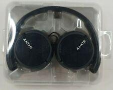 Sony Genuine MDR-ZX110/BC Stereo On ear Swivel 30mm Dynamic Headphones Black