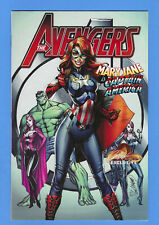"""AVENGERS #8 NM 2017 J SCOTT CAMPBELL VARIANT A / """"MARY JANE IS CAPTAIN AMERICA!"""""""