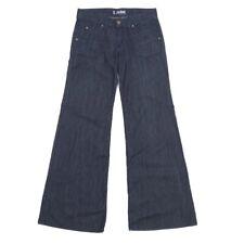 37286644562 Hudson Jeans Wide Leg Flare Trousers Dark Wash 28 x 34 NWOT