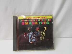 Jimi Hendrix Experience Smash Hits ~ Features 2 Extra Songs ~ W2 2276