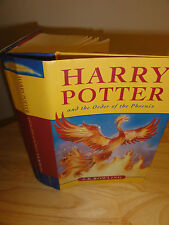 2003-Harry Potter And The Order of the Phoenix,1st Edition/1st Print, Canadian