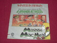 "Maggie MacNeal:  Winter In Berlin  Italian  EX+   7"""
