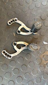 Grc Rr Rx Tevo Adjustable  Foot pegs Brackets  Set Up Rr Rsr Tevo MiniMoto