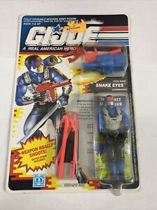 Vintage GI Joe Arah Cobra SNAKE EYES v4 Moc Sealed 1991 Commando Hasbro Tight Or