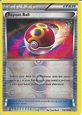 POKEMON CARD XY PRIMAL CLASH - REPEAT BALL 136/160 REV HOLO - TRAINER