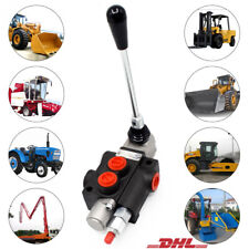 1 Spool Hydraulic Directional Control Valve 11 GPM 40L/min 20MPa for Tractors