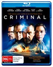 Criminal (2016)  - BLU-RAY - NEW Region B
