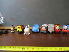 Thomas & Friends Mattel toddler toy lot 12 pc James Harold salty Toby SIr topem