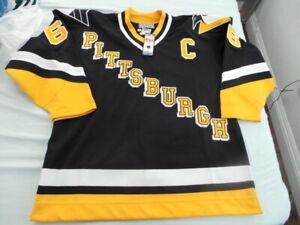 CCM Mario Lemieux Authentic Pittsburgh Penguins Jersey 50 NEW NWT vintage 90s