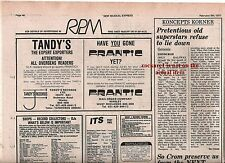 GENESIS Edinburgh concert review 1977 UK ARTICLE / clipping