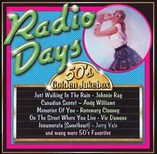 Various Artists 50s Golden Jukebox: Radio Days CD