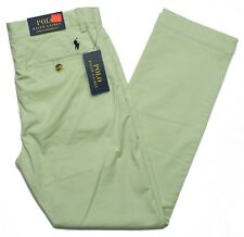 Polo Ralph Lauren #10468 NEW Men's Flat Front Stretch Straight Fit Pants $98.50