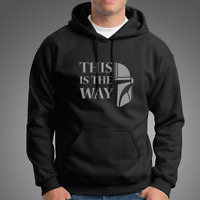 NEW THIS IS THE WAY BLACK Hoodies The Mandalorian Star Wars