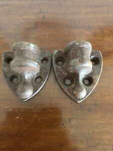 Pair Of Antique Gate Hinge Brackets