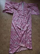 Echter Kimono pure Seide gefüttert XL Morgenmantel L silk soje robe Tomesode