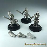 Metal Uruk Hai Scout X3 - Warhammer / Lord of the Rings X1138