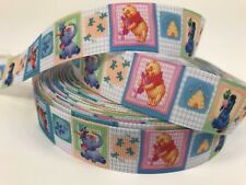"BTY 1"" Winnie The Pooh And Friends Grosgrain Ribbon Hair Bows Scrapbooking Lisa"