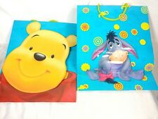 Gift bag Winnie The Pooh Eeyore 3d Gift Present Bags Large Glossy Party Birthday