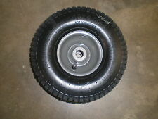"""Weedeater one 26"""" cut rear engine rider front wheel assembly 10x4x4"""