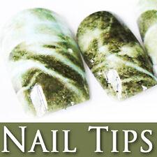 60 PCS Printed Pre-Design Decorated False Full Nail Tips 206-7