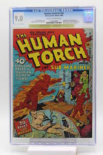 The Human Torch #2 CGC 9.0 Human Torch and Sub-Mariner Story Hitler Appearance
