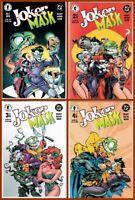 Lot Of 4 JOKER MASK #1-4 Complete Mini Series Harley Quinn DC 2000 VF+