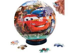 Disney Pixar Cars 2 Puzzleball 108pc Kids Jigsaw Puzzle  New in Box
