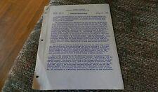 1957 Columbia University Electrical Engineering Transistor Characteristics sheet