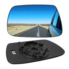 Blue HEATED Wing Mirror Glass Wide Angle For Jeep Grand Cherokee 05-10 LEFT SIDE