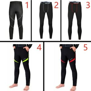 2021 Men's Cycling Trousers Warm and Breathable mtb Cycling Sweatpants