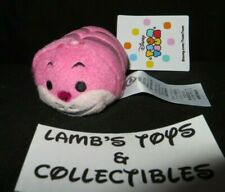 "Disney Store Authentic Tsum Tsum Cheshire Cat Alice in Wonderland 3.5"" plush toy"