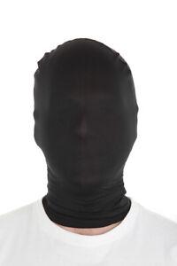 Black Morphmask  for Fancy Dress Costume Cheap Morph Masks by Morphsuits