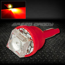 1 SUPER FLUX LED T10 W5W 194 168 EXTRA RED AUTO INTERIOR DOME WEDGE LIGHT BULB
