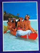 Nude Topless Tahiti Tahitian Hawaii Hawaiian Hula Polynesian Islander Girl PC #6