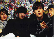 The Stone Roses Signed 12X8 Photo Genuine BROWN SQUIRE MANI & RENI (A)