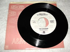 """Cat Stevens """"Another Saturday Night / Oh Very Young"""" 45 RPM,7"""",Nice EX!, Reissue"""