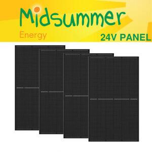 4 x 375W (1.5kW) 12V/24V Monocrystalline Solar PV Panel - European Quality