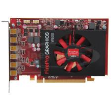 Scheda Video AMD FirePro W600 2GB GDDR5 6 x Mini DisplayPort PCI-E PCIe 3.0 x16