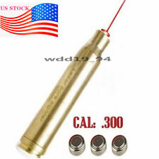 Boresighter Cal: 300 Win Mag Cartridge Red Dot Laser Bore Sight Sighter Tactics