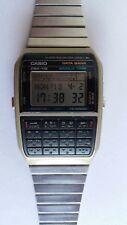 Casio DBX-112, LCD Quartz Digital-Uhr mit Rechner und Datenbank, Rarität 1985.