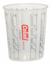 Colad 2.3L Lösungsmittel Proof Mixing Cup - 20 Tassen plus 5 Deckel (colcup 2300)