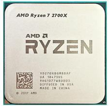 AMD Ryzen 7 2700X R7 2700X CPU 3.7 GHz 8-Core 16-Thread 16M Socket AM4 Processor