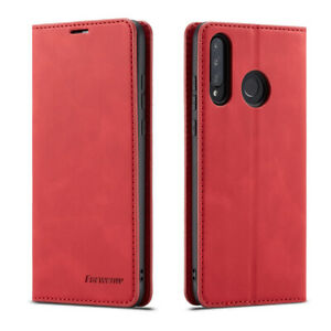 Magnetic Wallet Case Leather Flip Cover for Huawei P40 P30 P20 Mate 20  Lite Pro