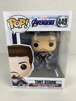 Funko Pop! Marvel Avengers Endgame - Iron Man Tony Stark #449 Vinyl Bobble-head
