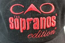 CAO 'The Sporanos' edition baseball cap - Black with red accents