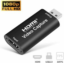 More details for hdmi to usb 2.0 video capture card 1080p hd recorder for dslr live broadcasting